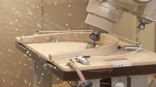 Built by newport wood component manufacturing