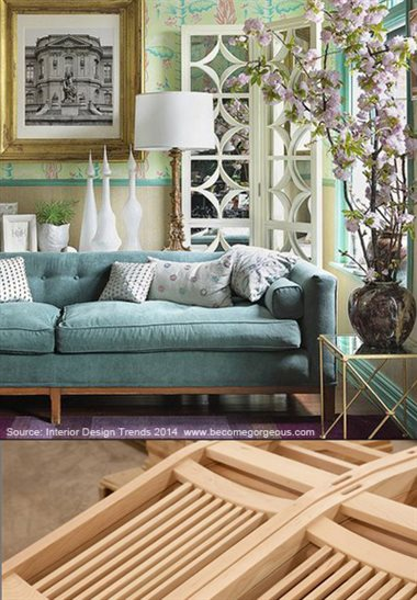 Unique Furniture Styles Are Leading The 2014 Home Decor Trend